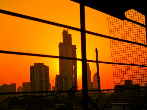 Sunrise in Mumbai, taken March 13th, 2012.